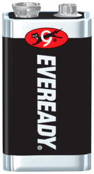 Eveready 9V, zinko-chloridová