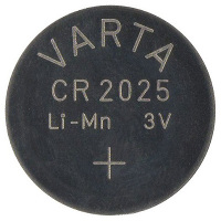 Varta CR2025, lithiová